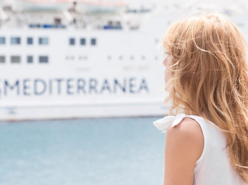 Artistic direction and photography for Trasmediterránea, a leading shipping company in Spain
