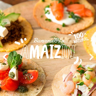 Product photography for Amaizin's web and social networks, focusing on gastronomic e-commerce