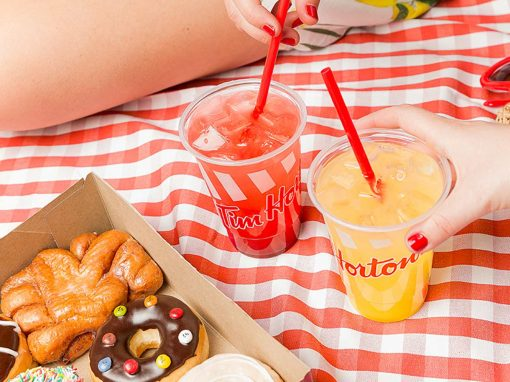 Squeeze the summer with Tim Hortons! Photography and short form videos for the Canadian brand's social media in Spain