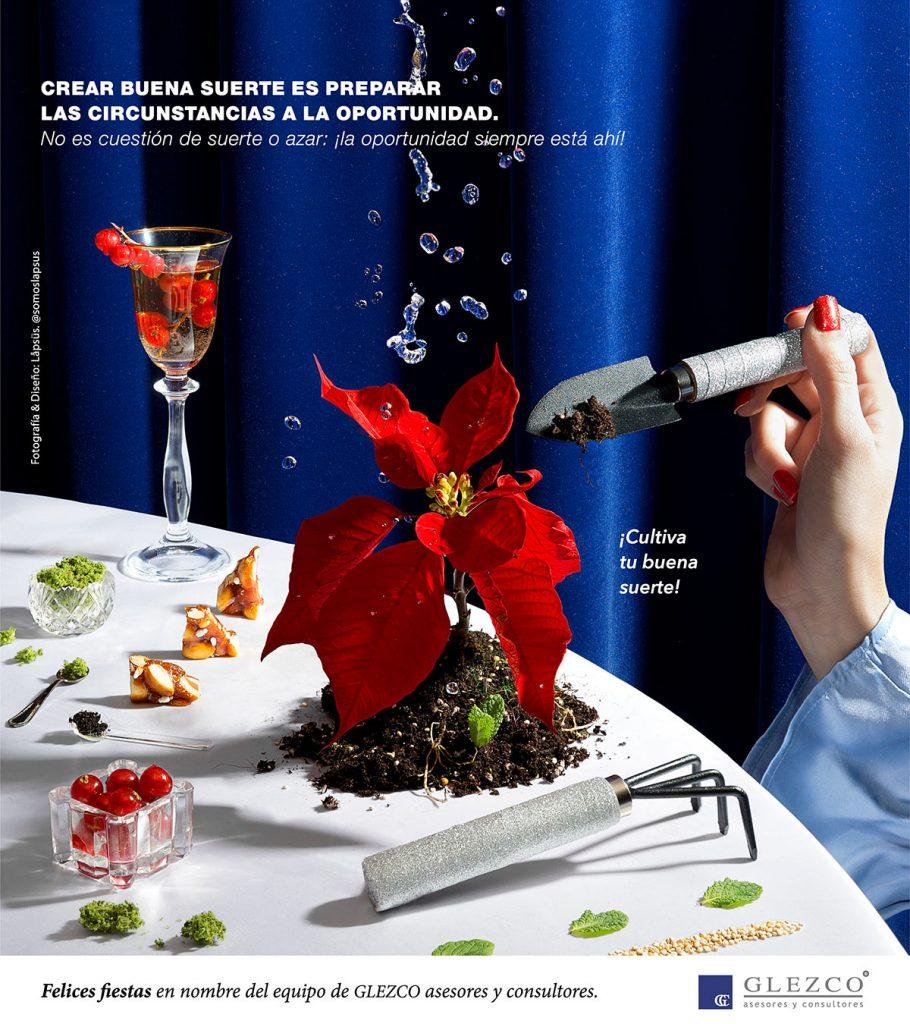 Diseño y fotografía de Felicitación Navideña