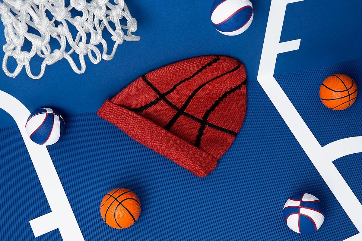 Beanie inspirado en el baloncesto - Fotografía web - Beanifield