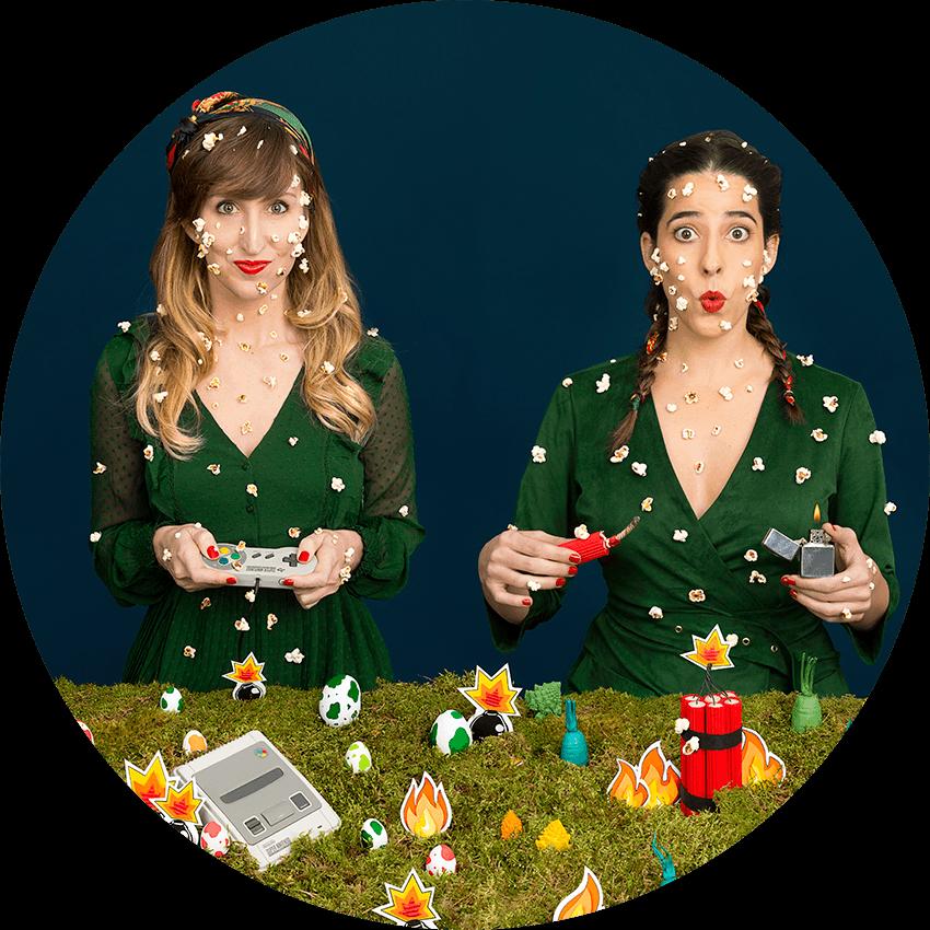 Annie Domínguez& Mary Urrutia - KinderGarten - Fotografía Autorretrato