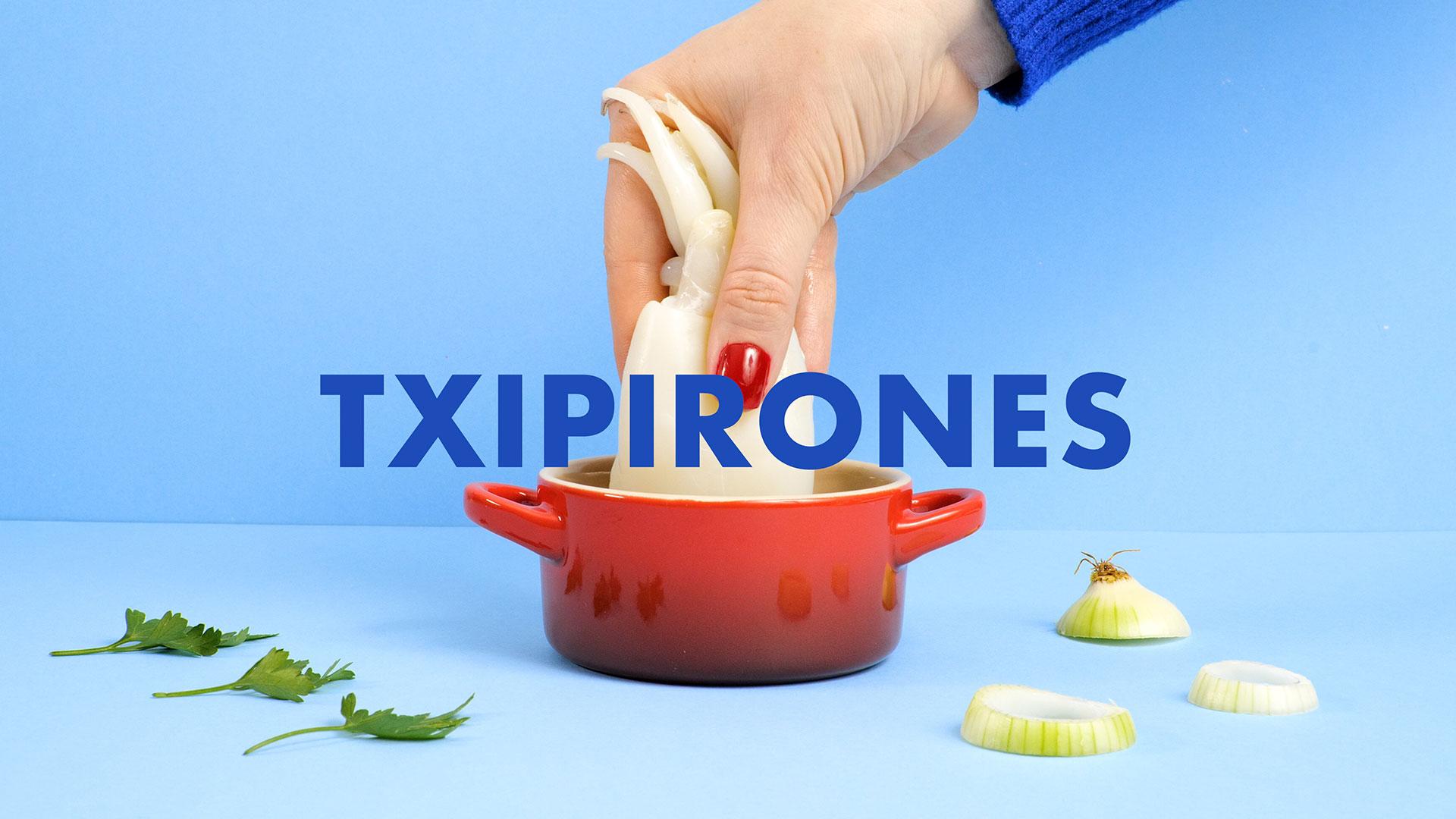 Destapa la Tapa - Gastronomía Española - Txipirones - Tipografía - Realización Audiovisual - Día Mundial de La Tapa - Lapsus