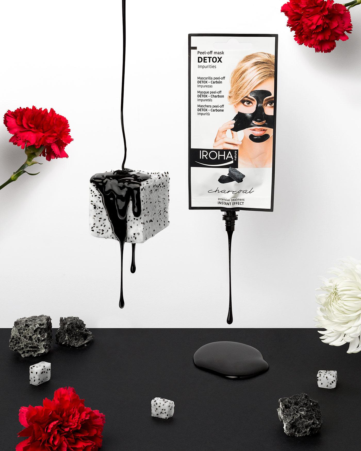 Funtastic Spring! - Fotografía para campaña publicitaria - Mascarilla Peel Off Charcoal
