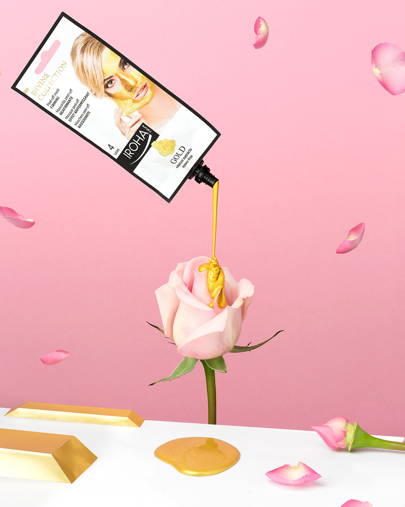 Funtastic Spring! - Fotografía para campaña publicitaria - Mascarilla Peel Off Gold