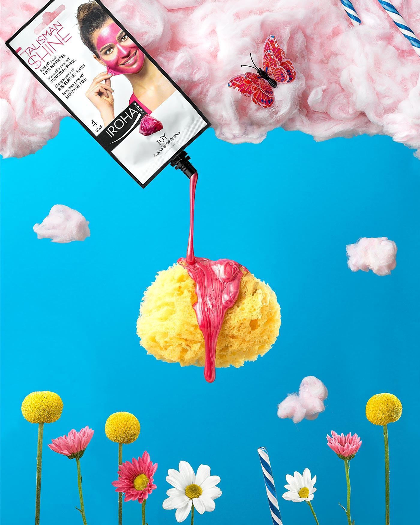 Funtastic Spring! - Fotografía para campaña publicitaria - Mascarilla Peel Off Joy