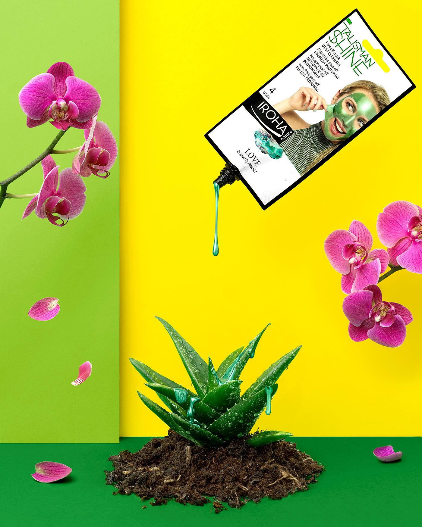 Funtastic Spring! - Fotografía para campaña publicitaria - Mascarilla Peel Off Love