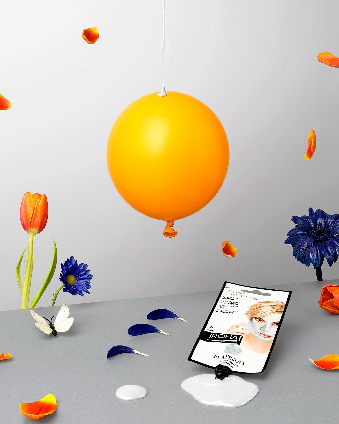 Funtastic Spring! - Fotografía para campaña publicitaria - Mascarilla Peel Off Platinum