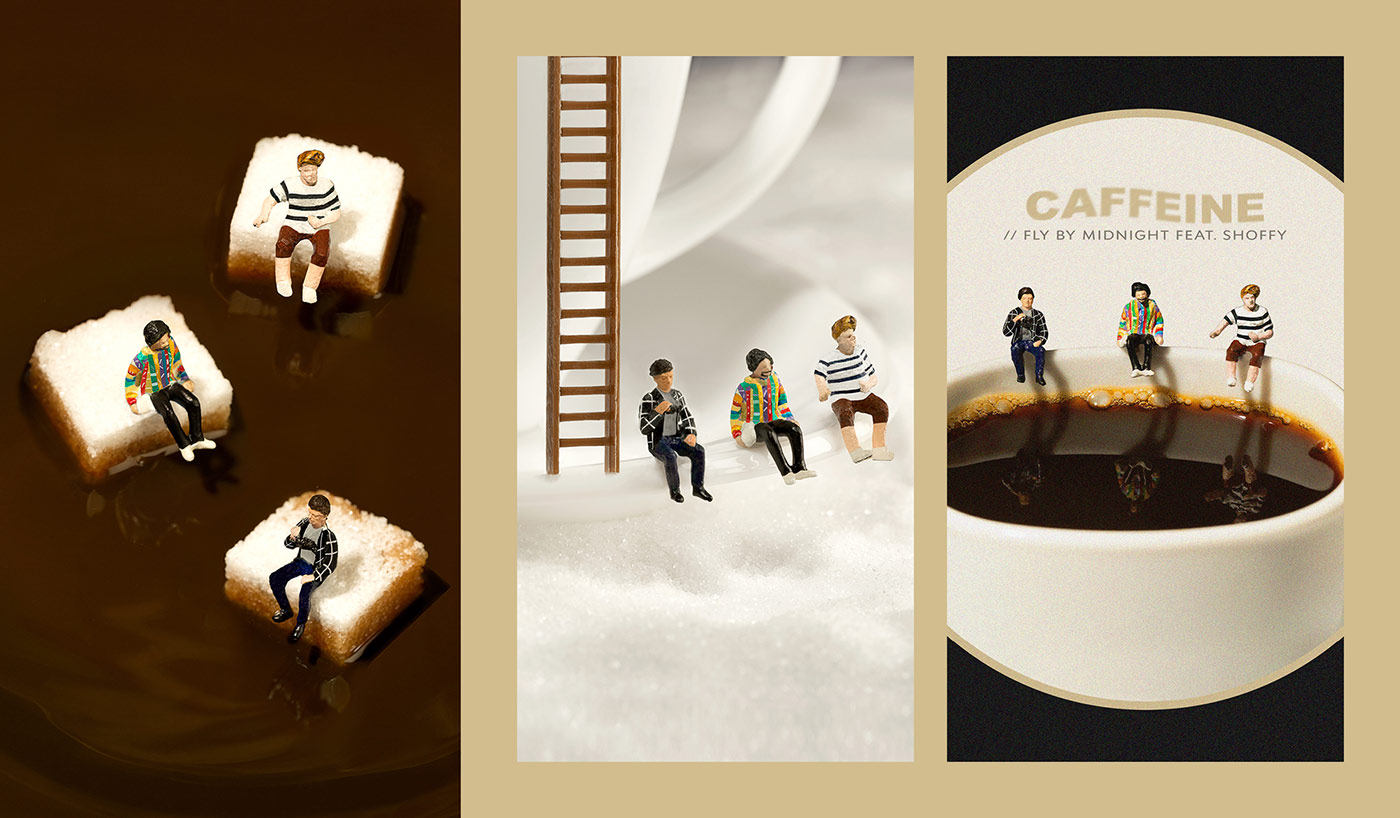 Caffeine - Fly By Midnight & Shoffy - Cover Photography Låpsüs