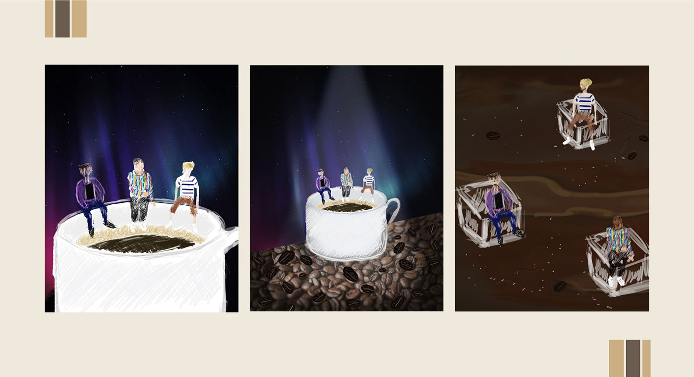 Caffeine Drafts - Fly By Midnight & Shoffy - Cover Photography Låpsüs