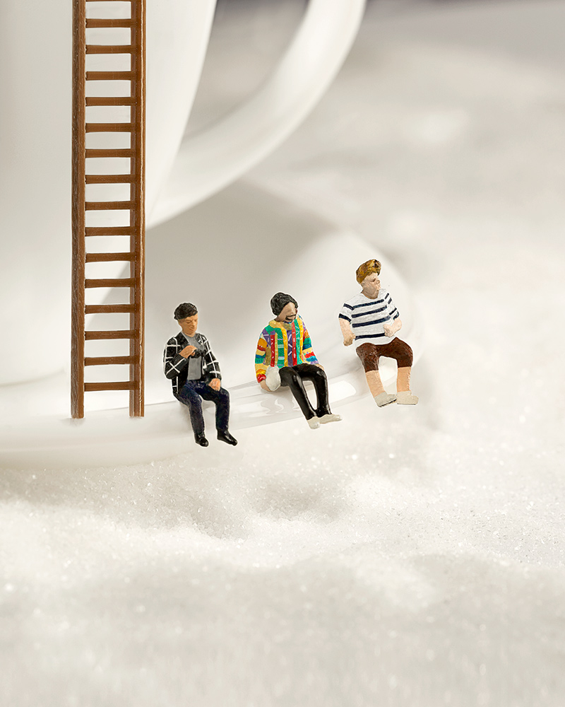 Caffeine - Coffee Mug and Sugar - Fly By Midnight & Shoffy - Cover Photography Låpsüs