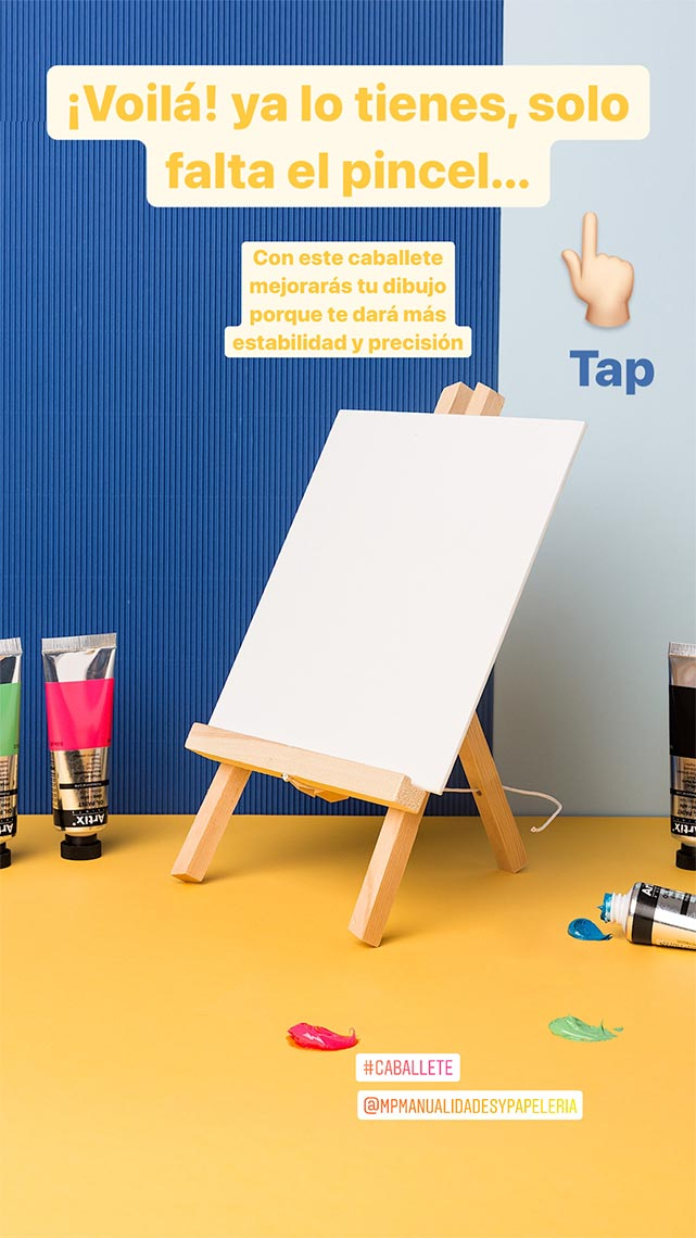Fotografía Creativa - Marketing Visual - Implementación Redes Sociales - Caballete - Papelería & Manualidades - Madrid Papel - Låpsüs