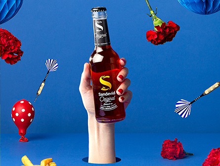 The magic of flavor exists! See how it visually breaks the screens at the spring Sandevid Vibes